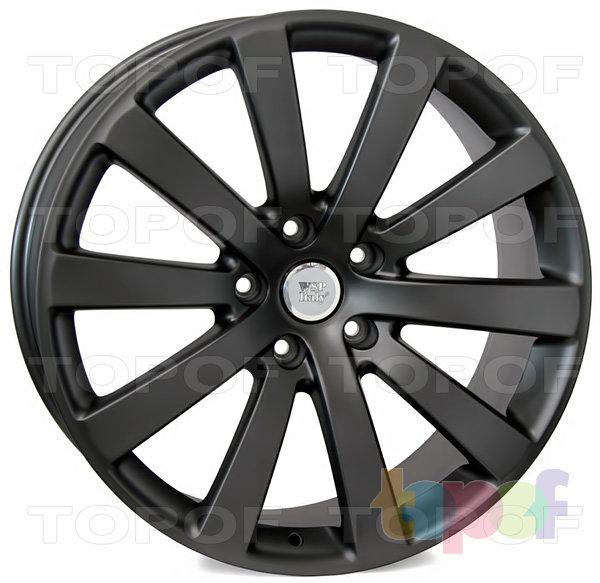 Колесные диски Replica WSP Volkswagen W459 Sahara. Цвет колесного диска - Mist Gun Metal (Черный матовый с дымкой)