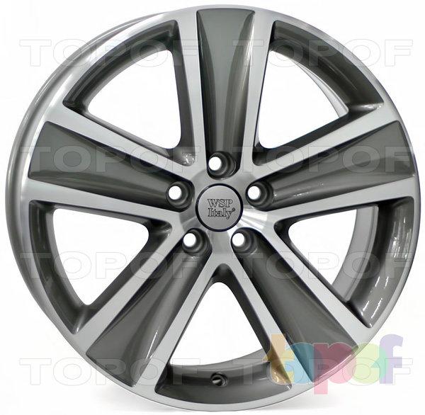 Колесные диски Replica WSP Volkswagen W463 Cross Polo. Цвет колесного диска - Anthracite polished (Антрацит полированный)