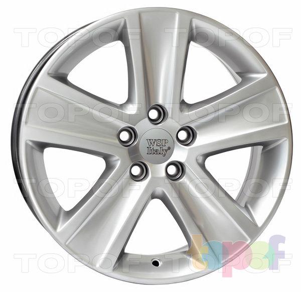 Колесные диски Replica WSP Volkswagen W463 Cross Polo. Цвет колесного диска - Hyper Silver (Насыщенный серебряный)