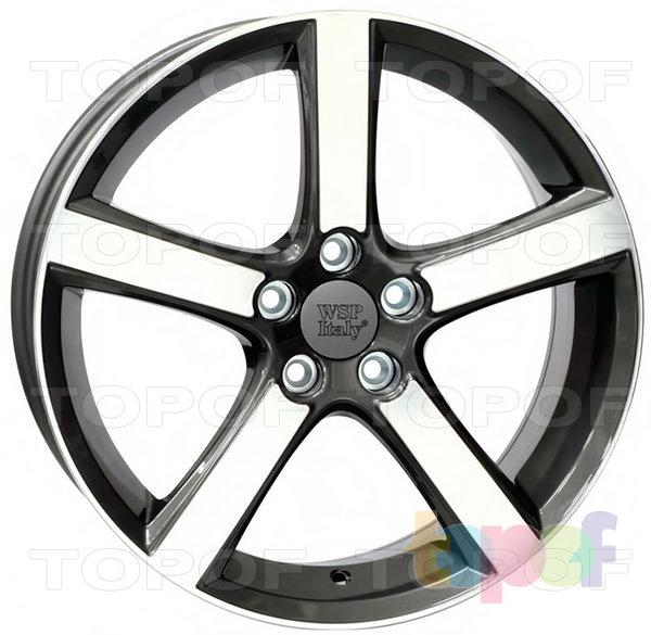 Колесные диски Replica WSP Volvo W1257 Nord. Цвет колесного диска - Anthracite polished (Антрацит полированный)