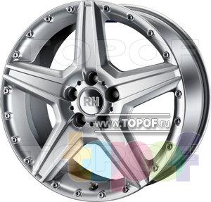 Колесные диски RH BC. Изображение модели #1