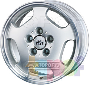 Колесные диски RH MB Funfloch. Изображение модели #1