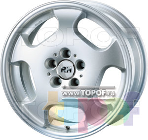 Колесные диски RH MB Funfloch. Изображение модели #2