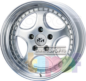Колесные диски RH P. Изображение модели #2