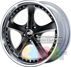 Колесные диски RH RAU Vesuv. Изображение модели #1