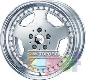Колесные диски RH ZW2 Topline. Изображение модели #1