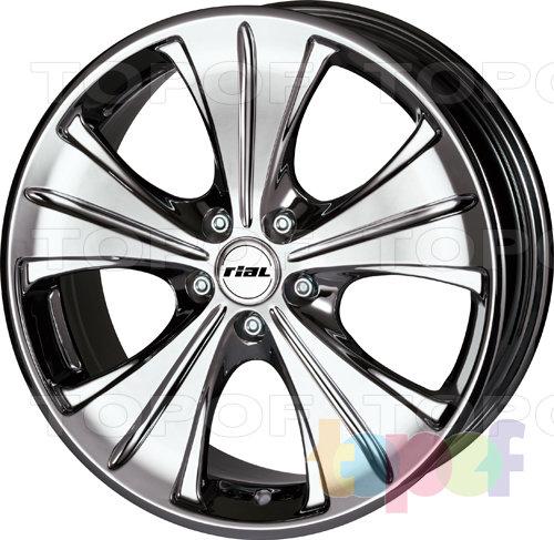 Колесные диски Rial Ancona. Изображение модели #1