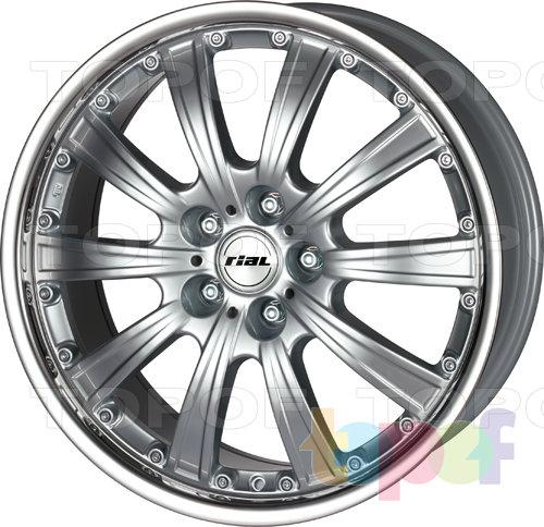 Колесные диски Rial Bellagio. Изображение модели #1
