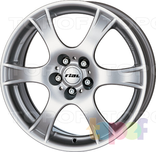 Колесные диски Rial Campo. Изображение модели #1