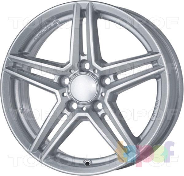 Колесные диски Rial M10. Серебристый