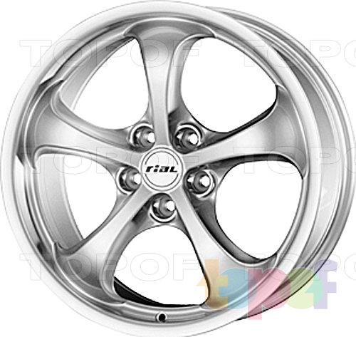 Колесные диски Rial Monte Carlo. Изображение модели #1