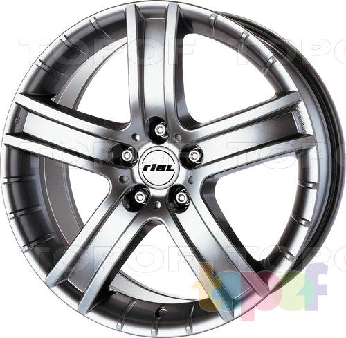 Колесные диски Rial Porto. Изображение модели #1