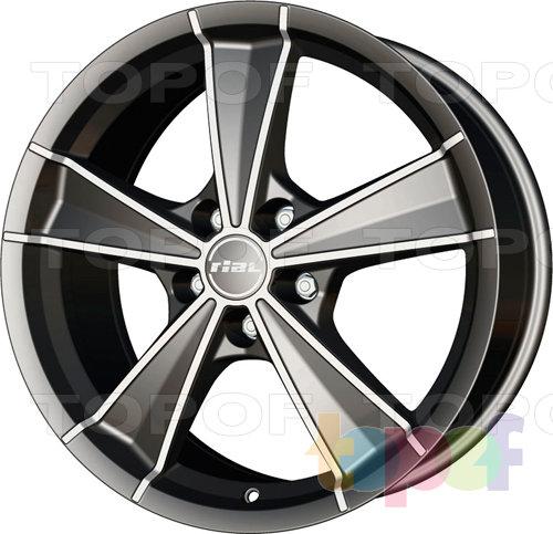 Колесные диски Rial Roma. Изображение модели #1