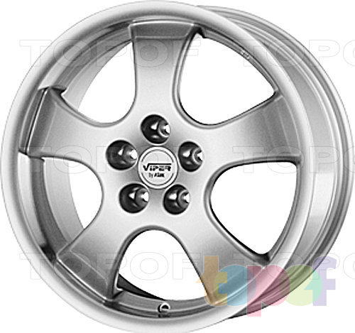 Колесные диски Rial Viper E. Изображение модели #2