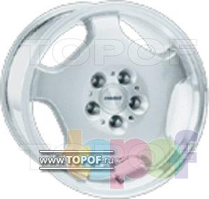 Колесные диски Rondell 0054. Изображение модели #1