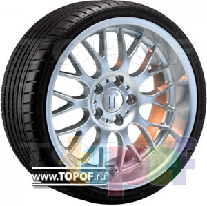 Колесные диски Rondell 0058. Изображение модели #1