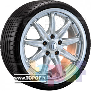 Колесные диски Rondell 0083. Изображение модели #1