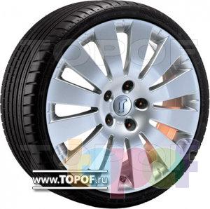 Колесные диски Rondell 0201. Изображение модели #1