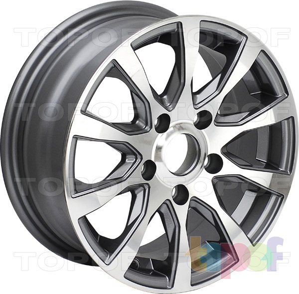 Колесные диски Roner LD07. Изображение модели #1