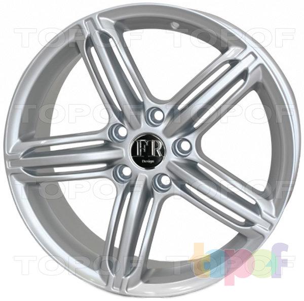 Колесные диски Roner RN0221. Изображение модели #1