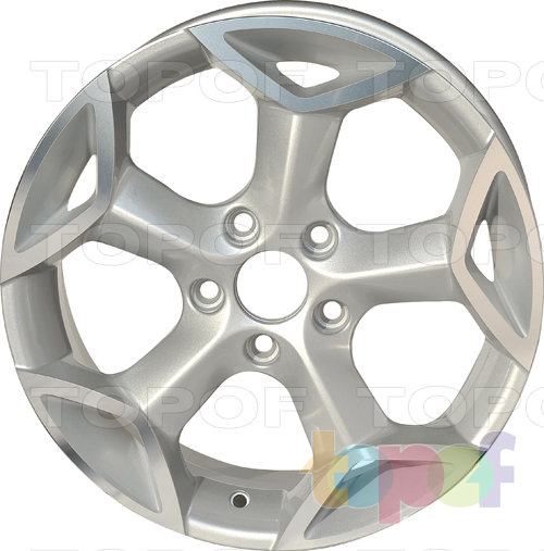 Колесные диски Roner RN0802. Изображение модели #2