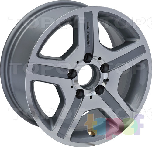 Колесные диски Roner RN1601. Изображение модели #2