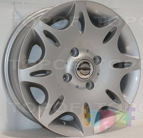 Колесные диски Roner RN1901. Изображение модели #1