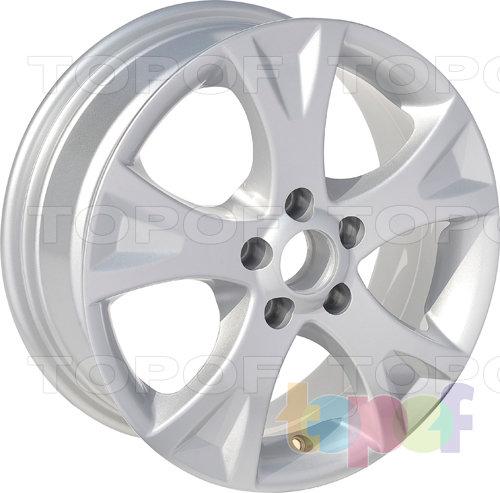 Колесные диски Roner RN2501. Изображение модели #2