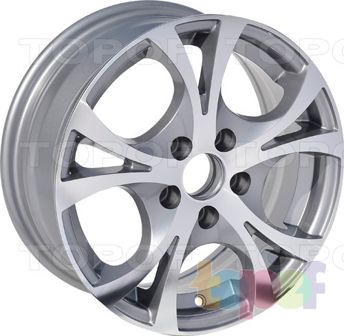 Колесные диски Roner RN2506. Изображение модели #1