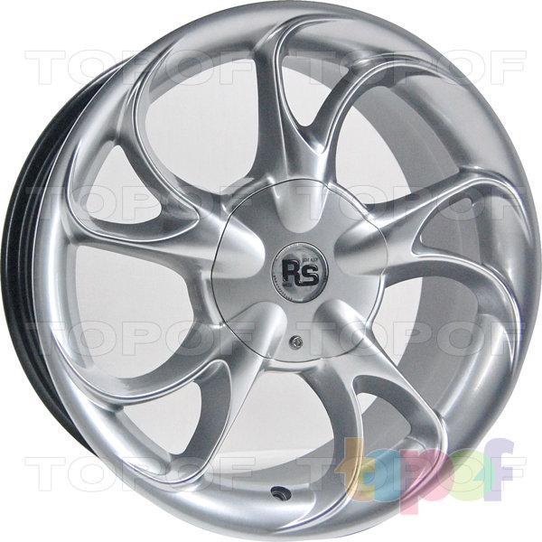 Колесные диски RS 0008. Хромированный