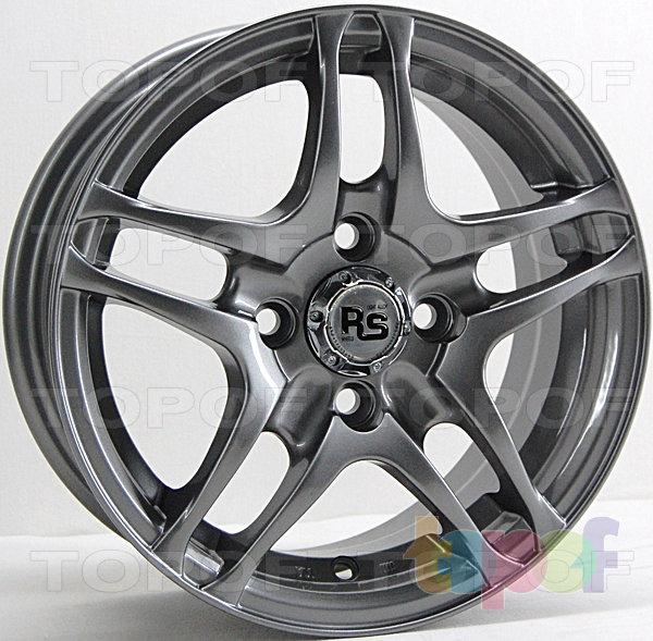 Колесные диски RS 032. Насыщенный черный
