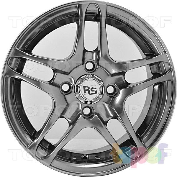 Колесные диски RS 032. Насыщенный серебристый