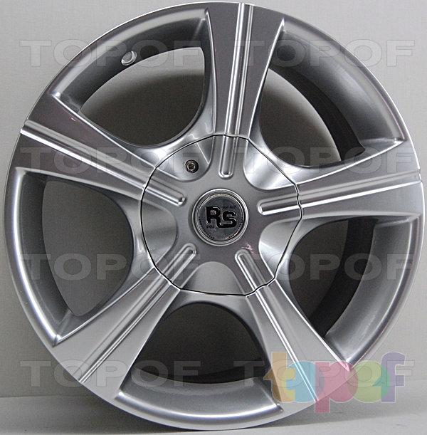 Колесные диски RS 101T. Насыщенный серебряный
