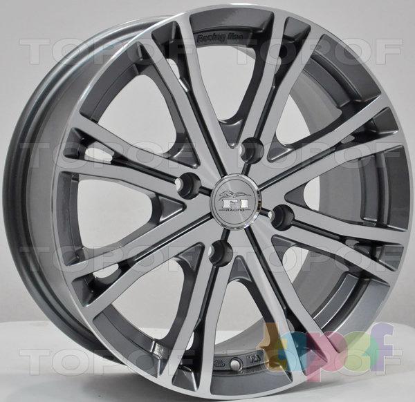 Колесные диски RS 105. Модель 105 F1. Цвет - матовый серый