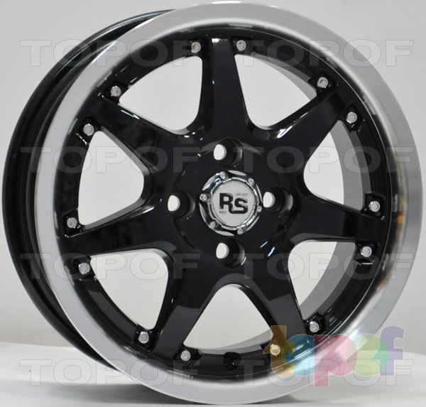 Колесные диски RS 105T. насыщенный серебряный