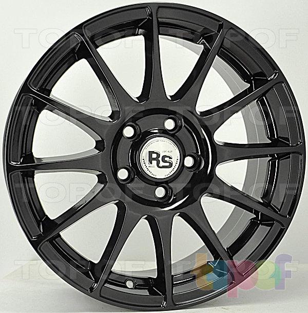 Колесные диски RS 110. Белый цвет