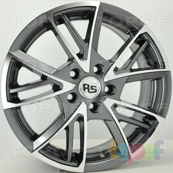 Колесные диски RS 111. Цвет темно серый полированный