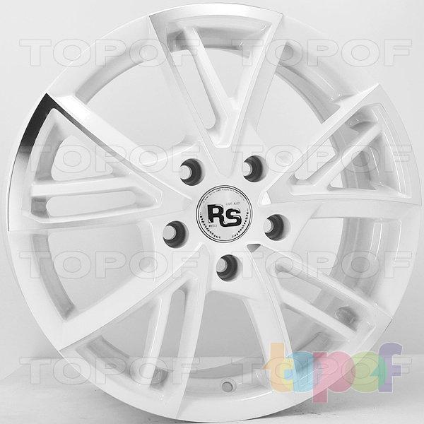 Колесные диски RS 111. Цвет белый полированный