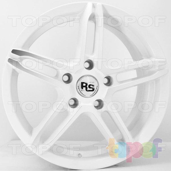 Колесные диски RS 112. Цвет матовый белый