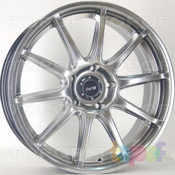 Колесные диски RS 1203. Цвет: матовый черный
