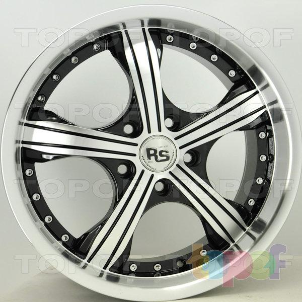 Колесные диски RS 143. Цвет: матовый черный