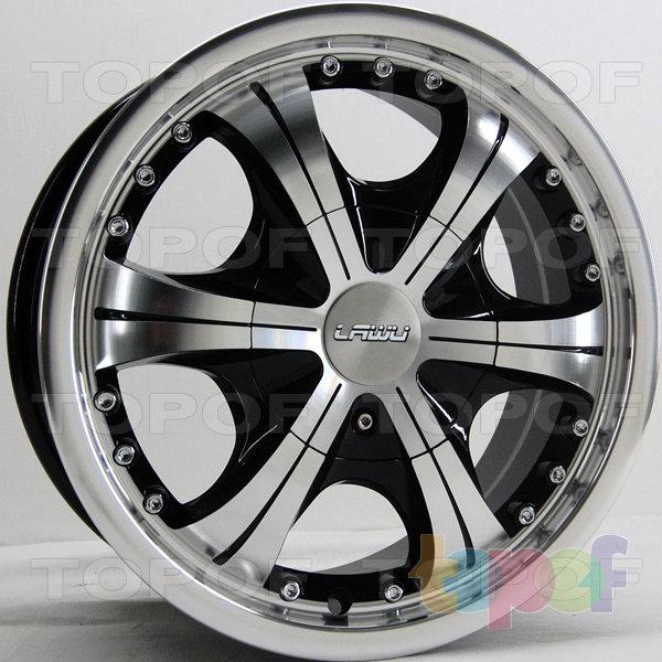 Колесные диски RS 146. Цвет: матовый черный