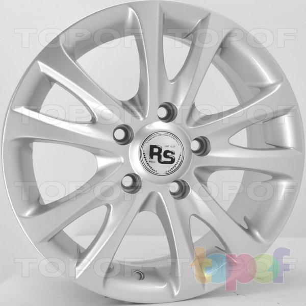 Колесные диски RS 154. Цвет: серебряный