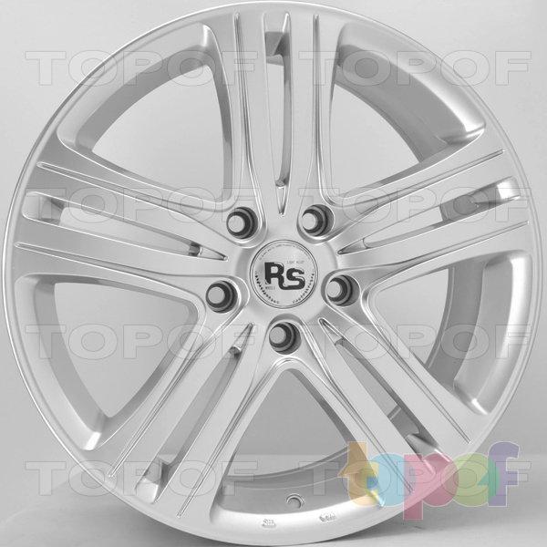 Колесные диски RS 157. Цвет: насыщенный серебристый