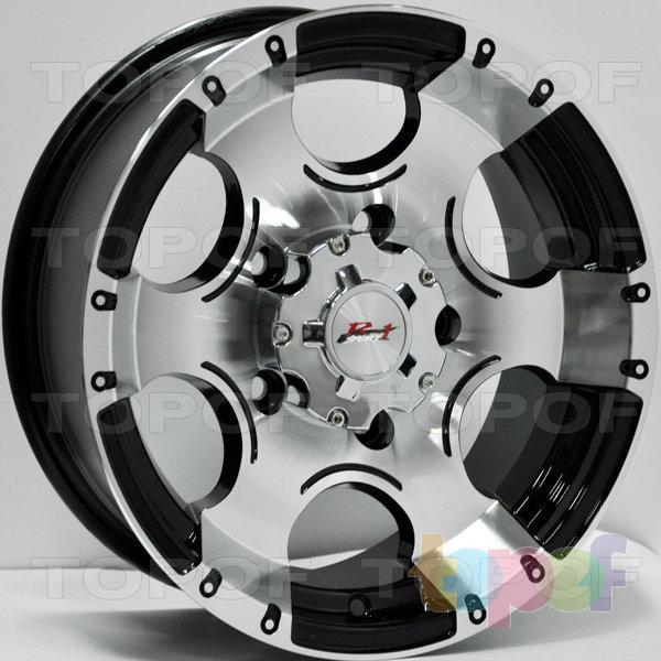 Колесные диски RS 181. Цвет: матовый черный