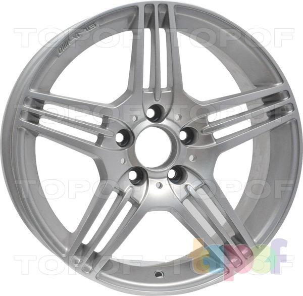 Колесные диски RS 202 rMB. Серебряный