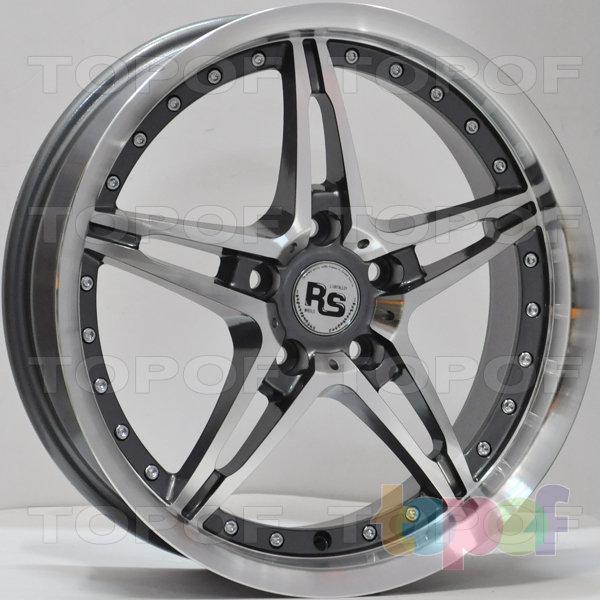 Колесные диски RS 205. Цвет: золотистый с дымкой