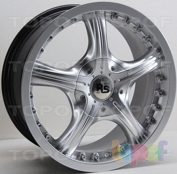 Колесные диски RS 229. Насыщенный серебряный