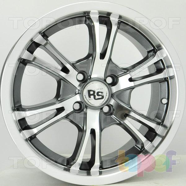 Колесные диски RS 235. Цвет: матовый серый, оружейный металл серый, антрацит