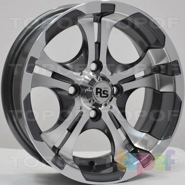 Колесные диски RS 258. Цвет: матовый серый, оружейный металл серый, антрацит